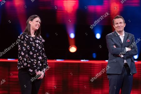 Stock Picture of Emma Reynolds and Bradley Walsh.