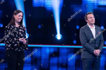 Emma Reynolds and Bradley Walsh.