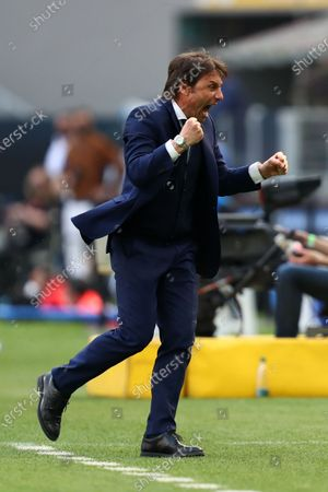 Editorial photo of Fc Internazionale v Hellas Verona Fc, Italian Serie A, Milano, Italy - 25 Apr 2021