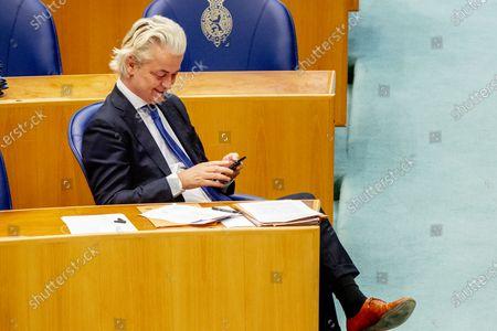 Stock Photo of Geert Wilders PVV