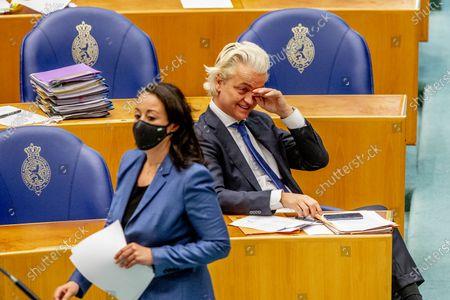 Stock Picture of Geert Wilders PVV