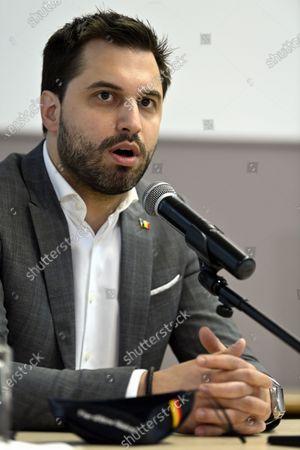 Editorial photo of Namur University Political Debate, Namur, Belgium - 29 Apr 2021