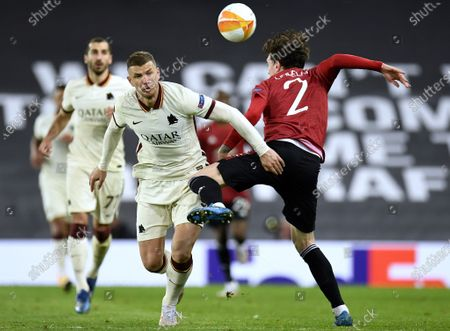 Editorial photo of Manchester United vs AS Roma, United Kingdom - 29 Apr 2021