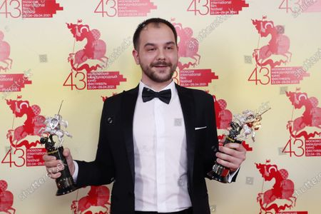 Editorial photo of The 43st Moscow International Film Festival, Russian Federation - 29 Apr 2021