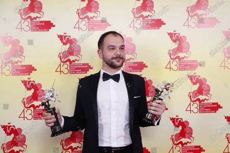 Editorial picture of The 43st Moscow International Film Festival, Russian Federation - 29 Apr 2021