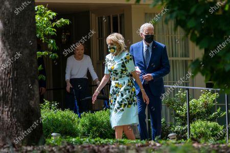 Editorial image of Biden, Plains, United States - 29 Apr 2021