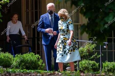 Editorial picture of Biden, Plains, United States - 29 Apr 2021