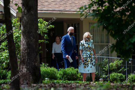 Editorial photo of Biden, Plains, United States - 29 Apr 2021