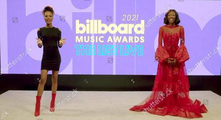 Editorial photo of 'Billboard Music Awards - The List Live' livestream, USA - 29 Apr 2021