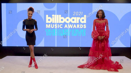 Editorial image of 'Billboard Music Awards - The List Live' livestream, USA - 29 Apr 2021