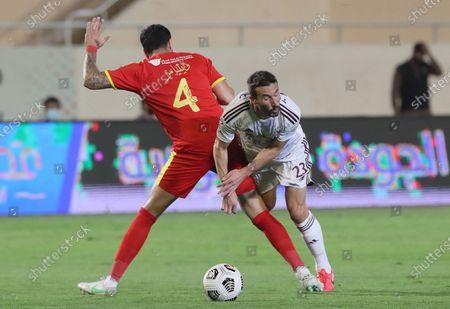 Editorial picture of Al-Qadisiyah vs Al-Faisaly, Khobar, Saudi Arabia - 29 Apr 2021