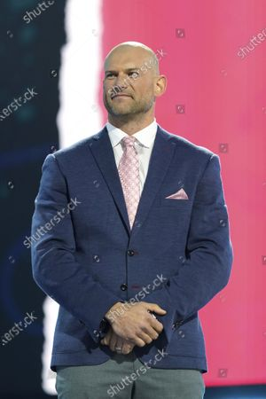 Editorial picture of NFL Draft Football, Cleveland, United States - 29 Apr 2021