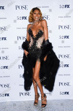 """Actor Dominique Jackson attends FX's """"Pose"""" third and finale season premiere at Jazz at Lincoln Center, in New York"""