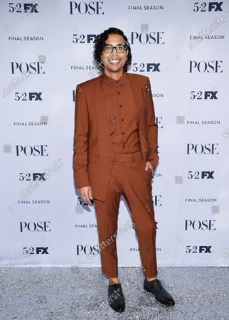 "Co-creator, executive producer and writer-director Steven Canals attends FX's ""Pose"" third and finale season premiere at Jazz at Lincoln Center, in New York"