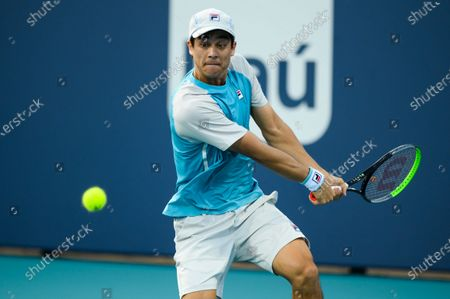 Editorial photo of Tennis Miami Open, Miami Gardens, USA - 24 Mar 2021