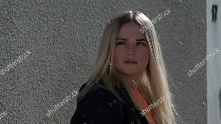 Coronation Street - Ep 10323 Wednesday 12th May 2021 - 1st Ep Imran Habeeb's attempts to get Kelly Neelan, as played by Millie Gibson, to tell the police what happened are hampered when her mum Laura Neelan appears and tells her daughter to say nothing to the police.