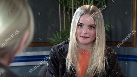 Coronation Street - Ep 10324 Wednesday 12th May 2021 - 2nd Ep Imran Habeeb sits in on the police interview with Kelly Neelan, as played by Millie Gibson.