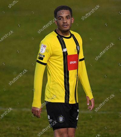 Stock Photo of Jay Williams of Harrogate Town