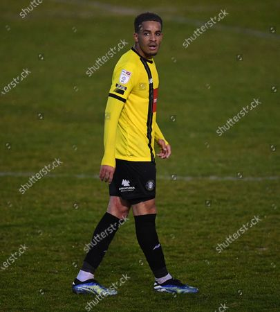 Stock Image of Jay Williams of Harrogate Town