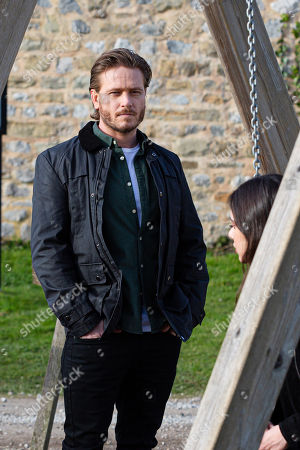 Emmerdale - Ep 9039 Wednesday 5th May 2021 As Liam and Leyla celebrate their engagement, David Metcalfe, as played by Matthew Wolfenden, and Meena's relationship is looking less stable.