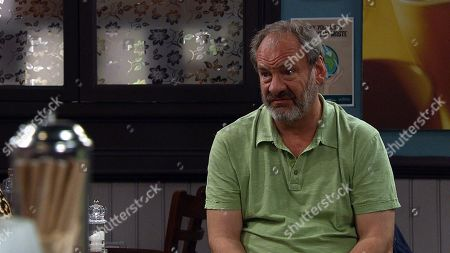 Emmerdale - Ep 9043 Monday 10th May 2021 Feeling overwhelmed, Jimmy King, as played by Nick Miles, confides in Mandy King over his marital struggles and the custody battle.