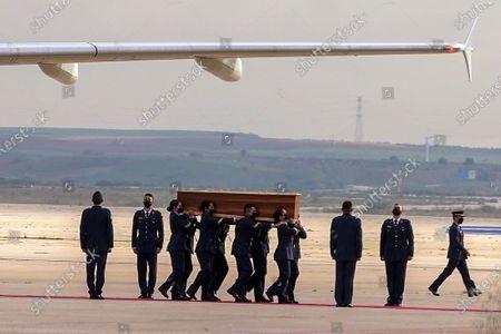 Editorial photo of Burkina Faso Repatriation, Madrid, Spain - 30 Apr 2021