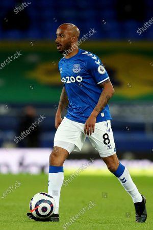 Stock Photo of Fabian Delph of Everton