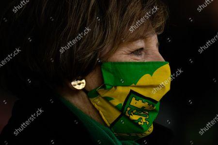 Stock Image of Norwich City Joint Majority Shareholder Delia Smith