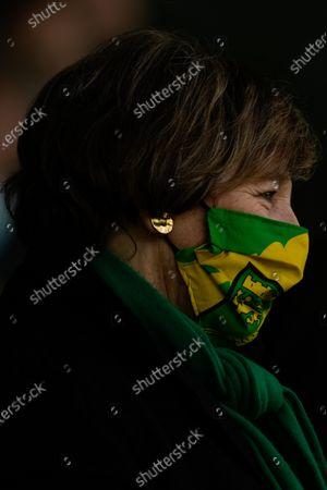 Norwich City Joint Majority Shareholder Delia Smith