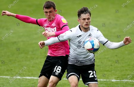 Editorial picture of Swansea City v Derby County, EFL Sky Bet Championship, Football, The Liberty Stadium, Swansea, UK - 01 May 2021