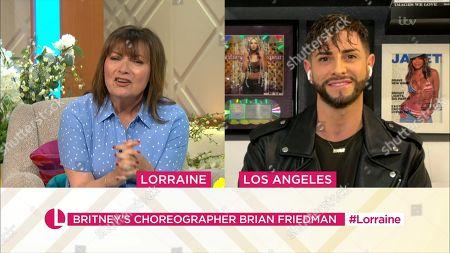 Lorraine Kelly, Brian Friedman