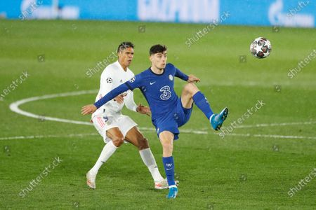 Editorial photo of Soccer : 2020-2021 UEFA Champions League : Real Madrid CF 1-1 Chelsea FC, Madrid, Spain - 27 Apr 2021