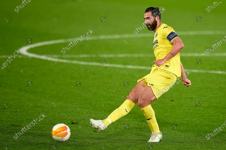 Stock Picture of Raul Albiol of Villarreal CF