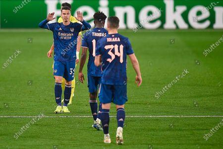 Editorial image of Villarreal CF v Arsenal FC, UEFA Europa League Semifinal, first leg, Football, La Ceramica Stadium, Villarreal, Spain - 29 APR 2021