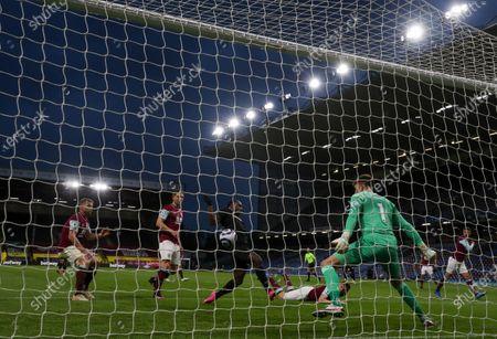 Editorial image of Burnley v West Ham United, Premier League, Football, Turf Moor, Burnley, UK - 3 May 2021