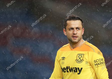 Stock Picture of West Ham goalkeeper Lukasz Fabianski