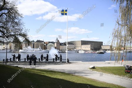Editorial picture of King Carl XVI Gustaf of Sweden 75th birthday, Stockholm, Sweden - 30 Apr 2021