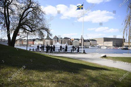 Editorial photo of King Carl XVI Gustaf of Sweden 75th birthday, Stockholm, Sweden - 30 Apr 2021