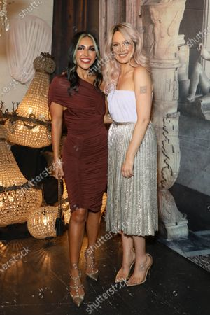 Stock Picture of Sogand Mohtat and Lucy Rose Shepherd