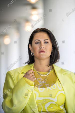 Editorial photo of Molly Sandén photoshoot, Stockholm, Sweden - 20 Apr 2021