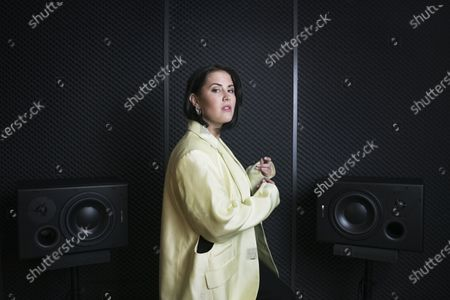 Editorial image of Molly Sanden photoshoot, Stockholm, Sweden - 20 Apr 2021