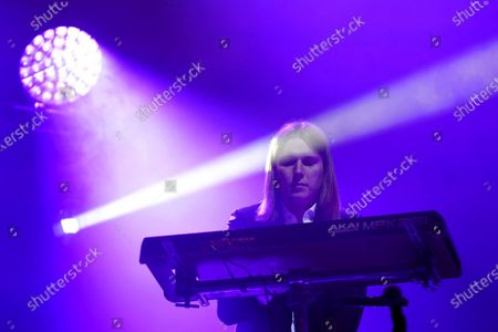 Stock Image of Myles Kellock of Blossoms in concert
