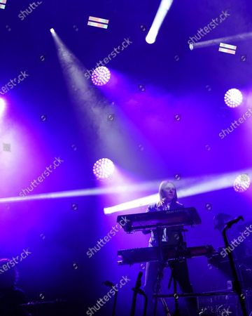 Stock Picture of Myles Kellock of Blossoms in concert