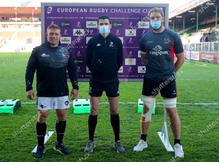 Editorial photo of European Rugby Challenge Cup Semi-Final, Welford Road, England - 30 Apr 2021