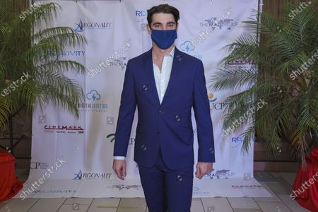 RJ Mitte, actor and executive producer at a special premiere screening of Relativity Media's film TRIUMPH in which he stars. TRIUMPH is in theatres on