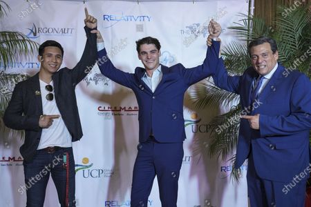 Editorial image of Special Screening of Relativity Media's Film TRIUMPH Starring RJ Mitte, Brownsville, United States - 29 Apr 2021