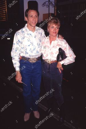 Johnny Crawford and wife