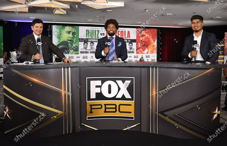 Ray Flores, Shawn Porter and Mikey Garcia