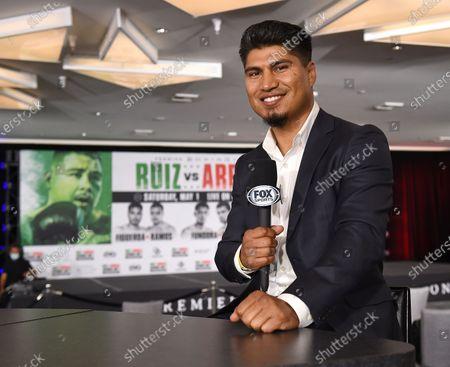 Editorial image of Ruiz v Arreola Weigh-In, FOX Sports PBC PPV Fight, Los Angeles, California, USA - 30 Apr 2021