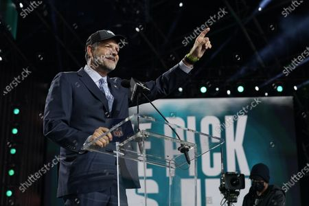 Editorial picture of NFL Football Draft Day 2, Cleveland, United States - 30 Apr 2021